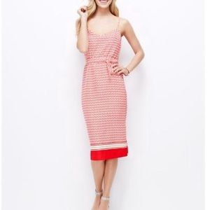 Ann Taylor - Tie Waist Midi Dress